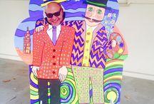 PhotoCall Punto Hundertwasser / Maqueta realizada por el alumnado de Primero y Segundo  ESO en el IES Luca de Tena  de SEVILLA . Profesora responsable: Marita Hernandez