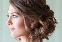 {Wedding: Beauty} / Hair styles and make up for your wedding day!