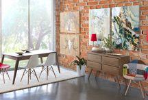 Amara / La colección Amara destaca por su cálido y confortable diseño, así como por el toque escandinavo que le brindan sus patas en diagonal.