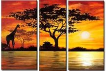 Cuadro Africa