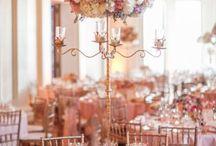 Wedding: Table Setting Inspiration / inspiration for your wedding reception table setting