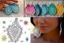 Šperky háčkované
