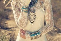 Boho Bride / Boho Beach Wedding Bride