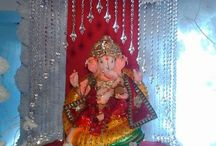 ganpati decorations