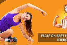 Exercise and Fitness / Get an idea about latest exercise and fitness tips.