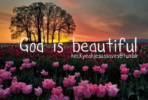 God is beautiful