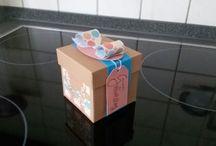 Die Stempelmaus / Hier findet ihr selbst gebastelte Karten und Verpackungen, lasst euch inspirieren!
