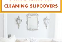 Cleaning slipcovers