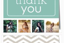 Graduation Thank You Cards / Say thanks to all those people that have helped you along the way with instantly customizable graduation thank you cards.