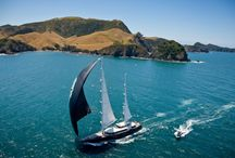 New Zealand / Mother Nature has been very generous in New Zealand! #newzealand #marlboroughsounds #auckland #mothernature #yachtcharter #clearsailing #cityofsails #bluewaterlife / by Bluewater