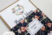 Convites | Florais | Inspirações