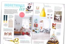 In the magazines / Cool decor for the kids room.