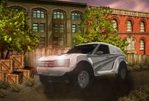 Trucks SUV Monstertrucks / Check out our concept art for our Trucks SUVs and Monstertruck games.