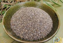 Semínka / Konopné semínko Sezamové semínka Lněné semínko Chia semínka