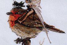 motylek i ptaszek