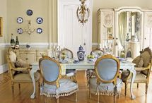 Inspiration-Dining Room Decor / french dining rooms, french country dining rooms, swedish dining rooms, french country, french country decor, french decor, romantic decor, french country decorating, french home, home decor, cottage decor, french style, home decor, Swedish decor, romantic decor