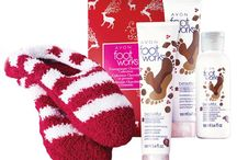 Christmas items / Avon products