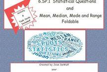 Statistics / by Jean DeWulf