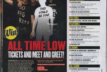 AS Media Music Magazine Contents Pages