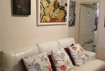 Art in interiors / art in people's homes