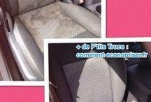 nettoyer siège de voiture