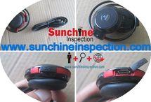 Headphones inspection service