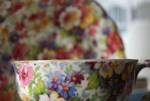 Chintz! / Flower's Everywhere! / by Elaine