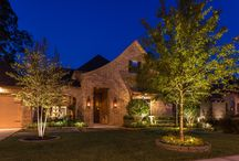 Landscape Lighting|Richmond, TX / Landscape Lighting in Richmond, TX. Photography Courtesy of Zvonkovic Photography