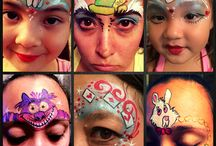 Alice in Wonderland Face Painting