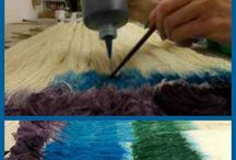 dyeing yarn wool