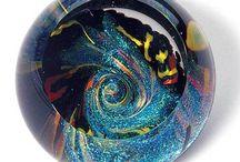 Glass Eye Studio Fireball Series Paperweights / Glass Eye Studio Fireball series!