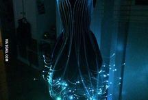 Fiber Optic Dress.