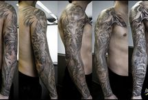 BLACK & GREY TATTOOS / MARC SANGRÀ TATTOO ART TATTOO ART TATTOO DESIGN