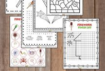 Homeschool Learning Printables / Printables to use in your homeschool!
