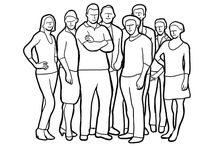 Group-photo posing ideas