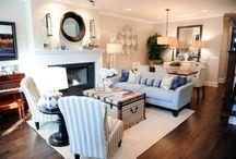 long skinny living room
