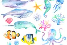 Spring Sea Animal Inspiration