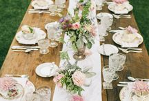 // tea party wedding portraits and details inspiration //