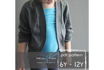Veste cape pull poncho enfant