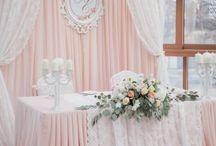 Düğün söz masa arka
