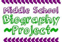 Middle school English ideas / by Katie Gunter