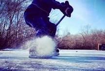 Outdoor hockey ponds FTW / Anyone up for a pick up game outdoors? Share your favorite outdoor pond hockey rinks and we'll share ours!