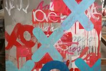 Concrete Love / Abstract Art,Visual Art, Fine Art