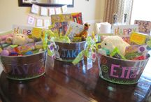 Holiday Ideas / Easter, St. Patricks Day, Valentines Day, 4th of July, and Halloween.