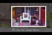 Sandy's Seashell Shop / Sea glass jewelry and other treasures from Sandy's Seashell Shop from Lisa Wingate's novel The Prayer Box
