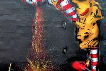 Controversial Street Art / International Street Art aka Graffitti