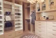Interior Design: Bedrooms/ closets