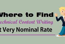 """Where to Find """"Technical Content Writing"""" at Very Nominal Rate"""