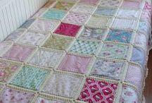 tendidos en tela y crochet