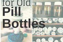 reuse pill bottles